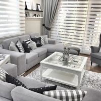 25+ best ideas about Silver Living Room on Pinterest
