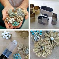 Do-it-yourself Napkin Rings | Costume jewelry, Jewelry and ...