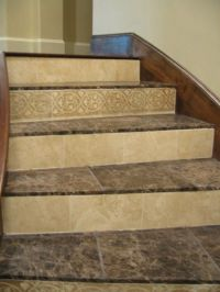 Tiled stairs | Stairs | Pinterest | Tile, Stairs and Love
