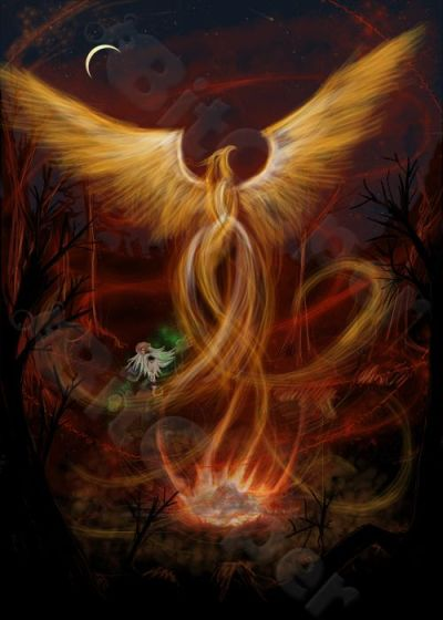 on my favorite mythical creature the phoenix perhaps its ...