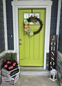 25+ best ideas about Front door decor on Pinterest | Front ...