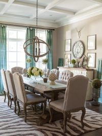 1000+ ideas about Brown Dining Rooms on Pinterest