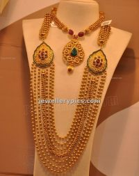 Malabar Gold Gundla Mala with 7 steps designs -Latest ...