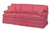 Fairington Lawson Style Sofa - lower rolled arm and tall ...