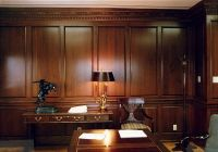wood paneled office | Home Office | den ideas | Pinterest ...
