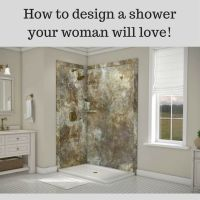 156 best images about Shower & Tub Wall Panels on ...