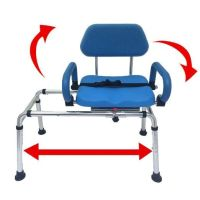 Read review Carousel Sliding Transfer Bench with Swivel ...