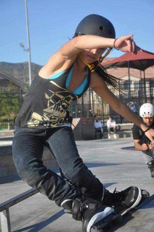 Skateboard Girl Wallpaper 1000 Images About Aggressive Inline Skating On Pinterest