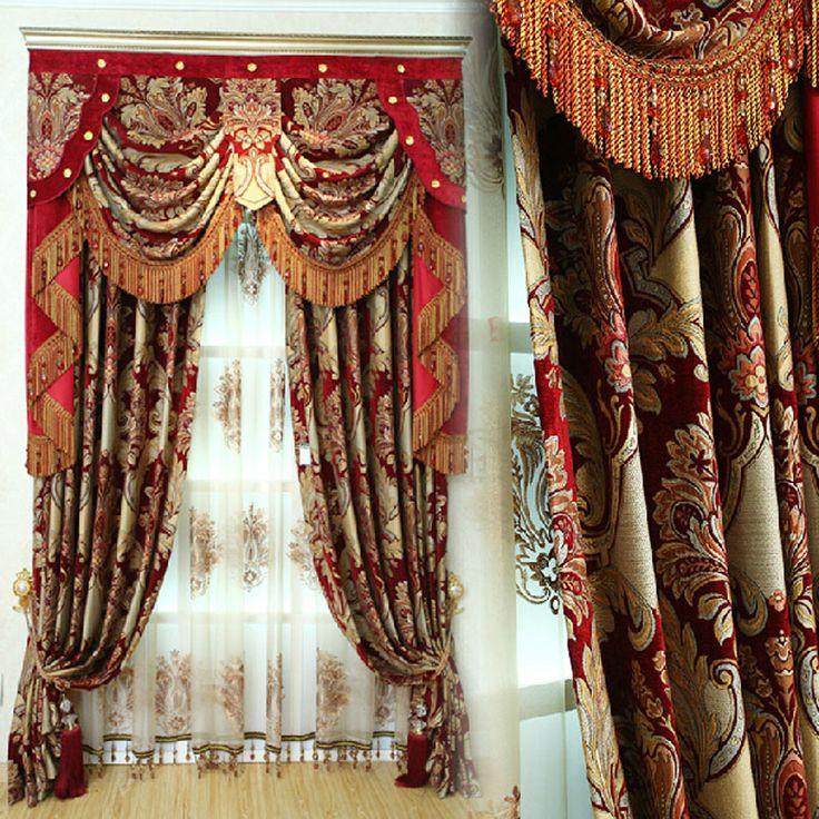 17 Best ideas about Elegant Curtains on Pinterest