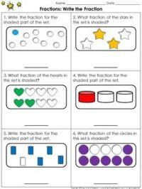 Fractions Of A Set Worksheets Grade 4 - find a fraction of ...