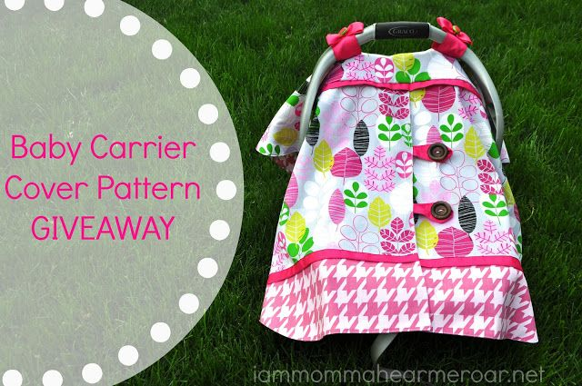 Car Seat Covers For Babies Patterns Baby Carriers Covers Free Pattern Definitely Went Girly