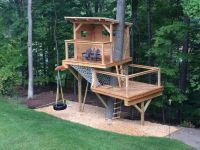 17 Best ideas about Simple Tree House on Pinterest | Kids ...