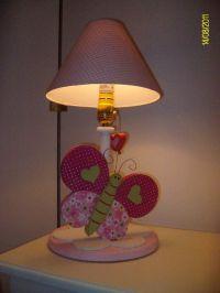 Butterfly lamp for kids decor | Kids lamps | Pinterest ...