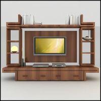 modern tv wall unit 3d model - TV / Wall Unit Modern ...