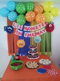 25+ best ideas about Monster baby showers on Pinterest