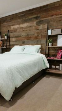 25+ Best Ideas about Bedroom Feature Walls on Pinterest