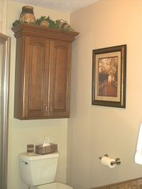 Bathroom Storage Cabinets Over Toilet | Wall cabinet above ...