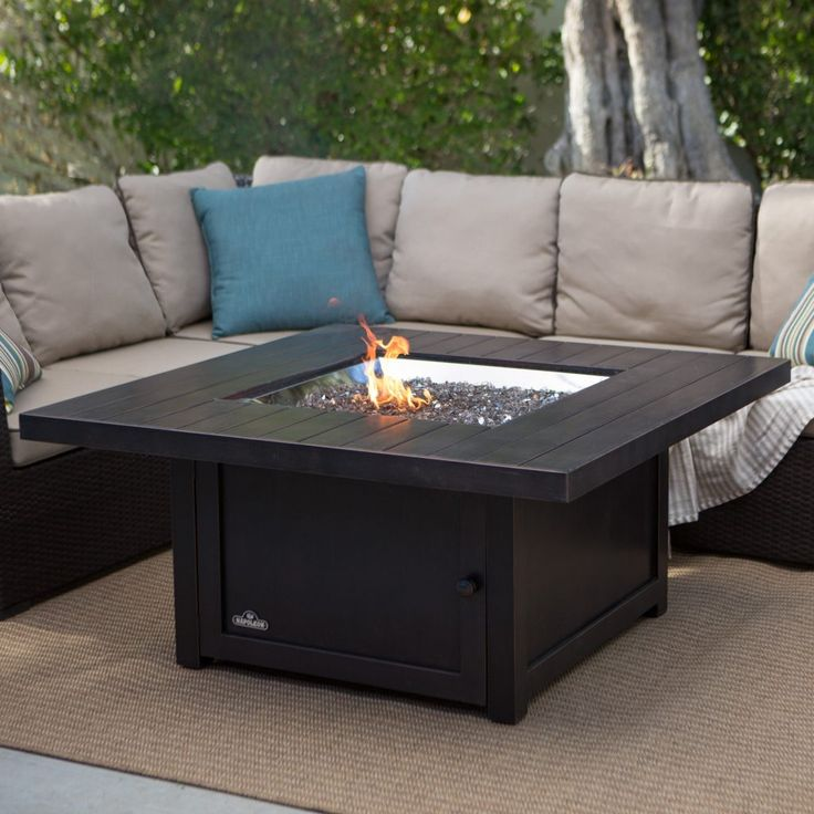 25+ best ideas about Fire pit coffee table on Pinterest
