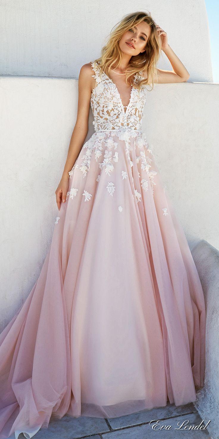 pretty dresses nice dresses for wedding Eva Lendel Wedding Dresses Santorini Bridal Campaign