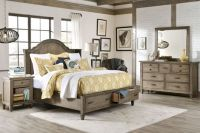 Rustic Distressed Wood Bedroom Set   Fall Is Here ...
