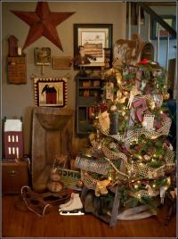 Primitive Country Christmas Tree Decorations is one of the ...