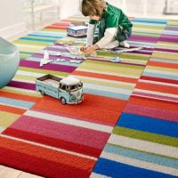 Colorful carpet tiles for a playroom | Cheerful.Children ...