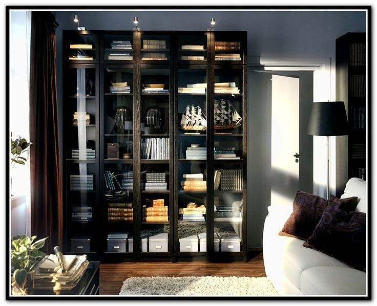 Narrow White Bookcase Ikea Billy Bookcase Black And White | Bookworm | Pinterest