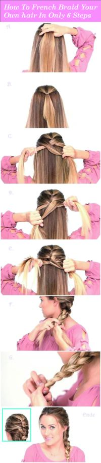 Best 20+ French braids ideas on Pinterest | French braid ...