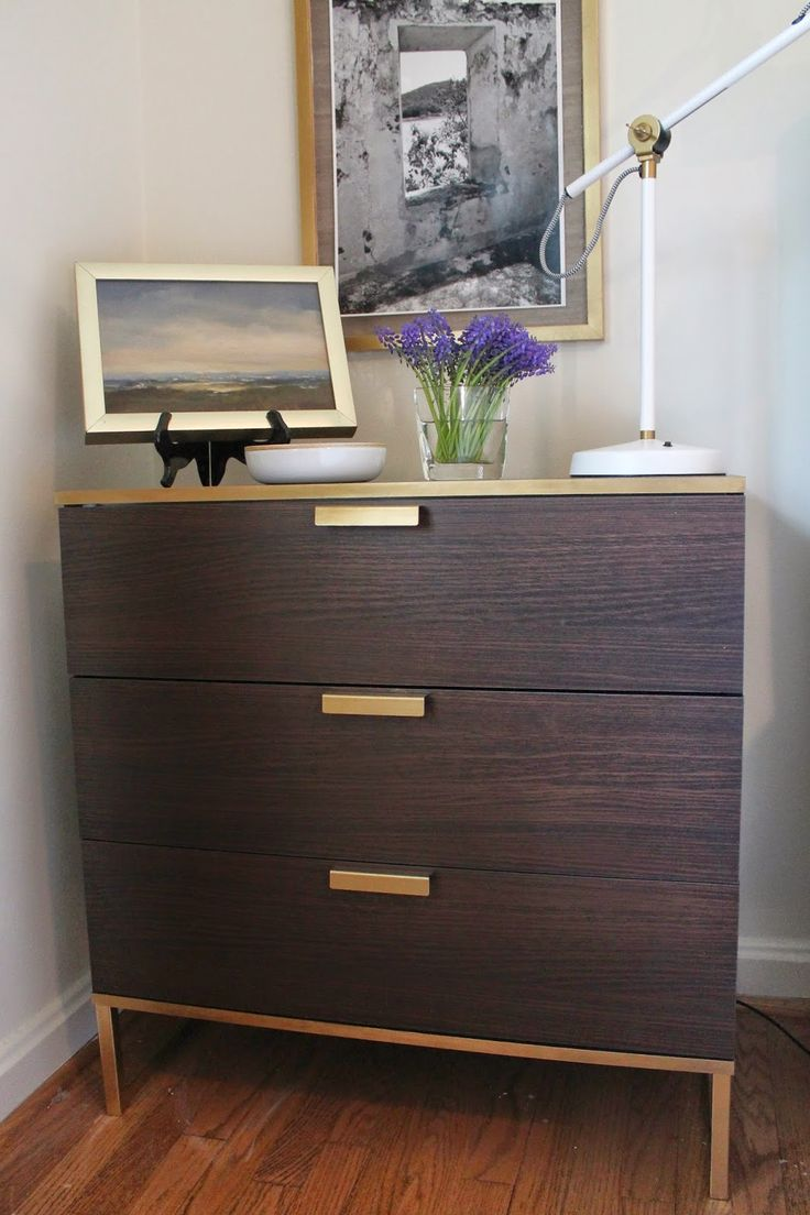 Kullen Dresser The Nightstand Is A Mini-ikea Hack Of The Trysil Dresser
