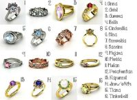 Best-Disney-Princess-Wedding-Rings-Collection   A bunch of ...