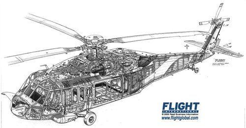 blackhawk cutaway diagram