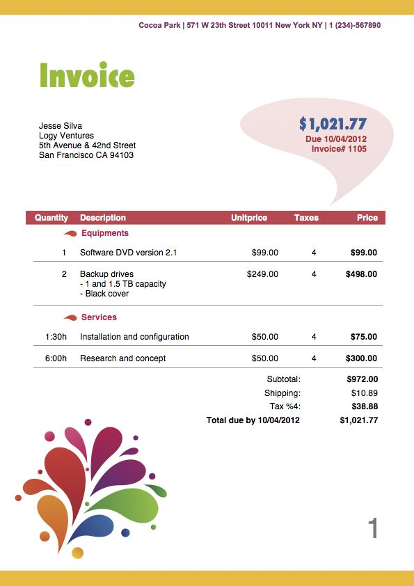 Travel Invoices Travel Invoice Format Best 20+ Invoice Format - photography invoice sample