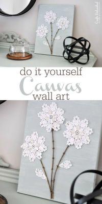 Best 25+ Shabby chic crafts ideas on Pinterest   Glass ...