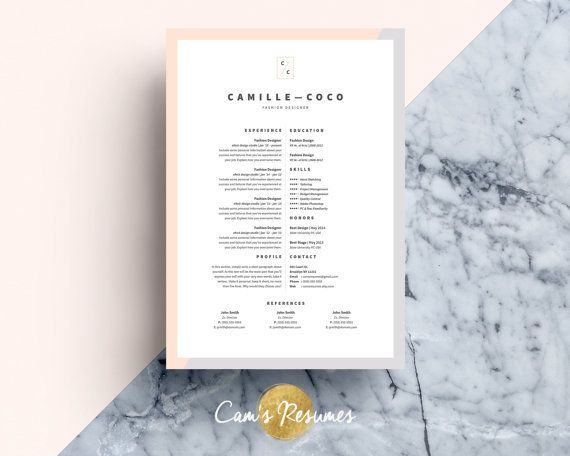 template cv payant