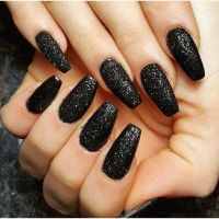 17 Best ideas about Matte Nails Glitter on Pinterest ...