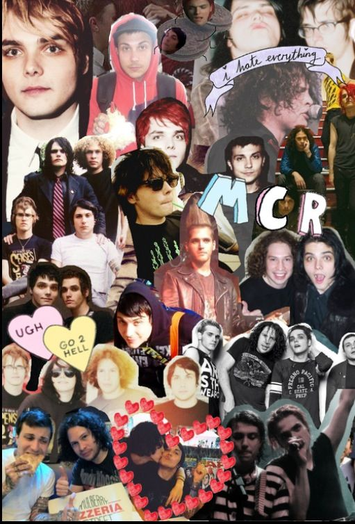 Falling In Reverse Ipod Wallpaper Collage