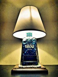Tequila 1800 Liquor Bottle Lamp | The Spirit Lamp Co ...