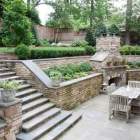 25+ Best Ideas about Sloped Backyard on Pinterest ...