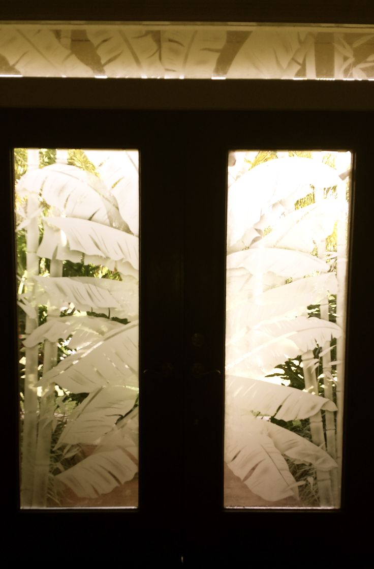 Etched glass doors privacy glass door inserts bamboo pictures to pin - Etched Glass Doors Privacy Glass Door Inserts Bamboo Pictures To Pin Beautiful Example Of An Download