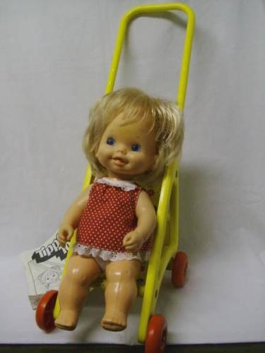 Doll Stroller Vintage Tippy Toes Doll She Could Also Hold Onto The Back Of The