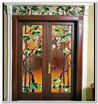 Stained Glass Front Doors Hampshire | Tea room | Pinterest ...