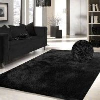 25+ best ideas about Black Shag Rug on Pinterest
