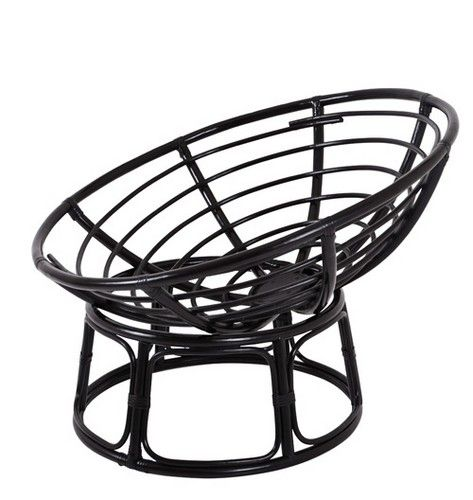 outdoor metal papasan chair frame