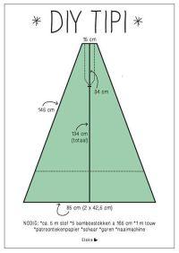 Elske: tipi DIY | Speel tent | Pinterest | Tent, DIY and Met