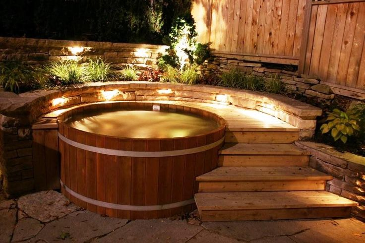 Outdoor Whirlpool Bausatz Wood-fired Hot Tub. I'm Fairly Certain I Need One. | Home