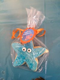 Starfish Cookies, finding nemo baby shower, under the sea ...