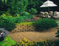 Stone Flower Beds | ... Of Raised Flower Beds, Raised Bed ...