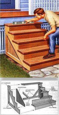 Top 25+ best Porch stairs ideas on Pinterest   Front door ...