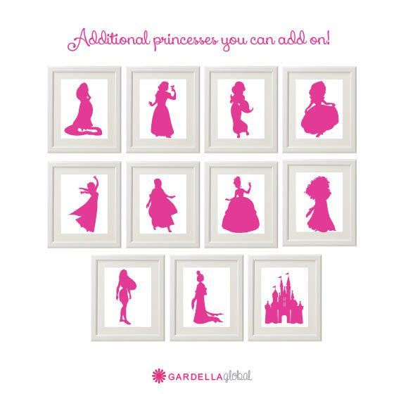 1000+ ideas about Princess Silhouette on Pinterest