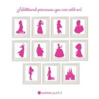 1000+ ideas about Princess Silhouette on Pinterest